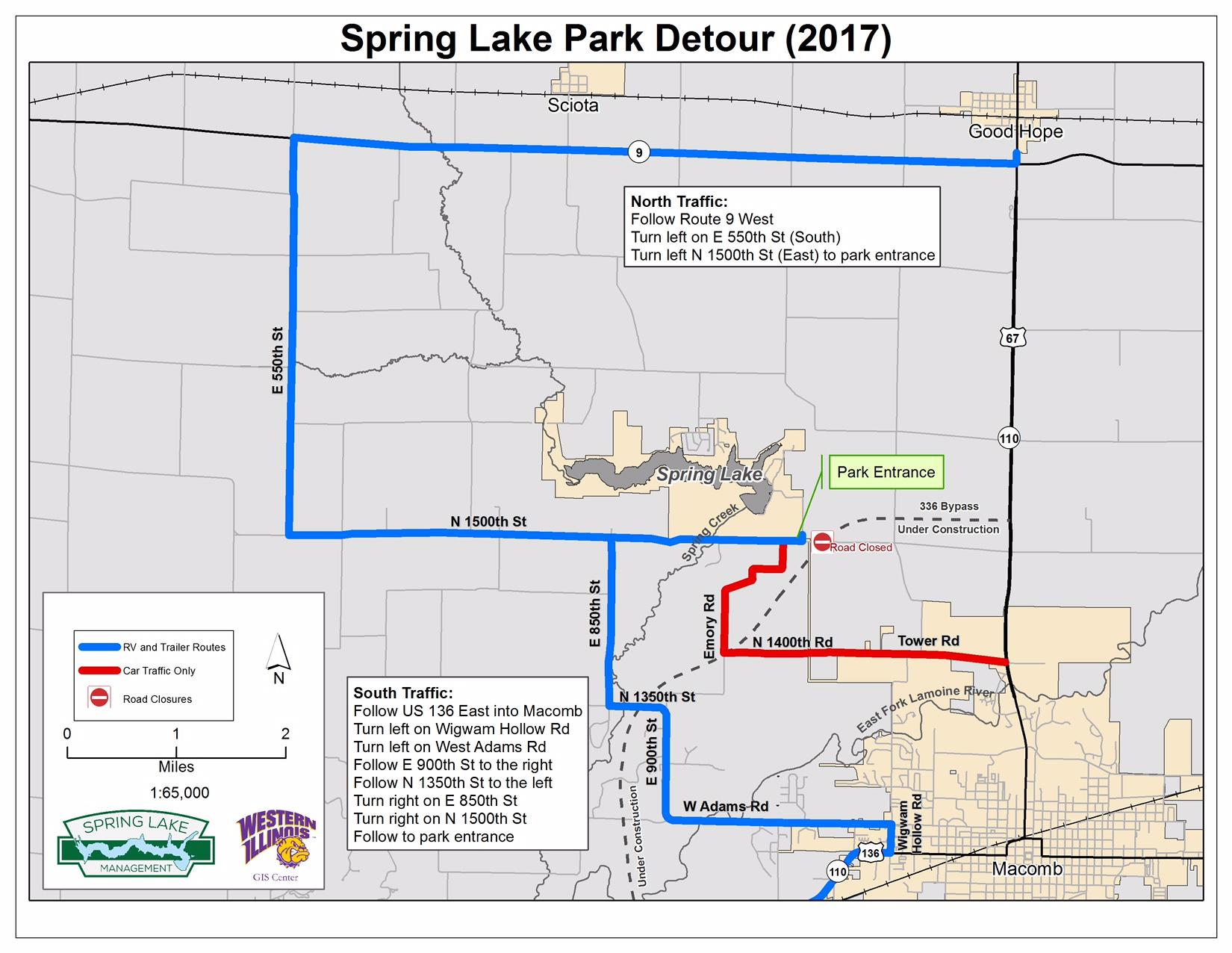 Spring Lake Detour
